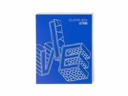 Carnet de coloriage - Letters OMY  - 1