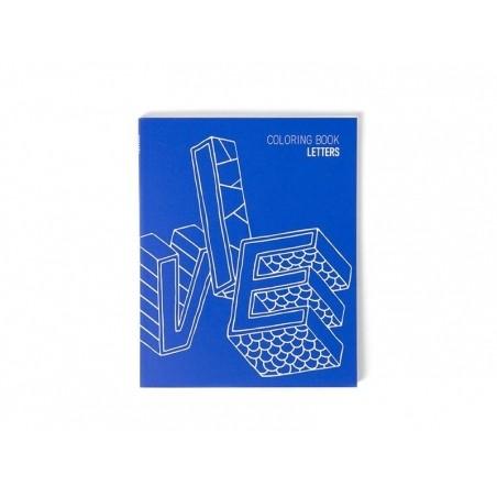 Acheter Carnet de coloriage - Letters - 5,50€ en ligne sur La Petite Epicerie - Loisirs créatifs