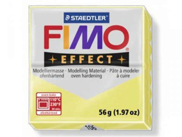 Fimo Effect - citrin no. 106