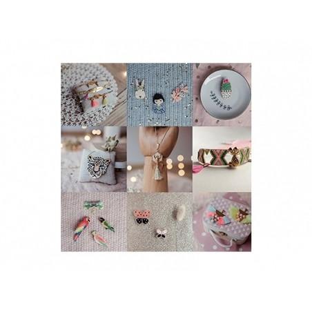 """Livre """"Je découvre le tissage de perles Brick Stitch"""" par Rose Moustache Créapassions - 2"""