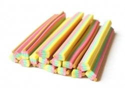 Ice lolly cane - three-coloured