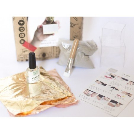 Acheter Kit mon petit pot en béton créatif - 13,90€ en ligne sur La Petite Epicerie - Loisirs créatifs