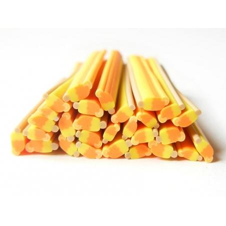 Ice lolly cane - orange and lemon