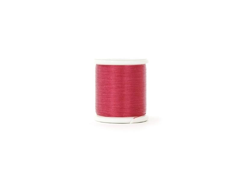 Bobine de fil pour tissage de perles - 50m - Framboise