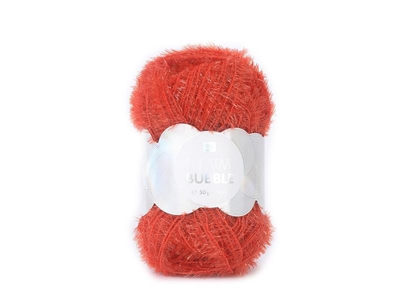 Acheter laine à tricoter Creative bubble , jaune citron, pour éponge  tawashi ,rouge