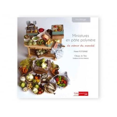 Livre Miniatures en pâte polymère de retour du marché  - 1