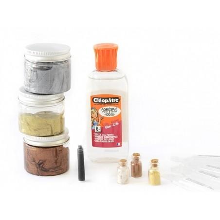 Kit complet - le slime métallique La petite épicerie - 2