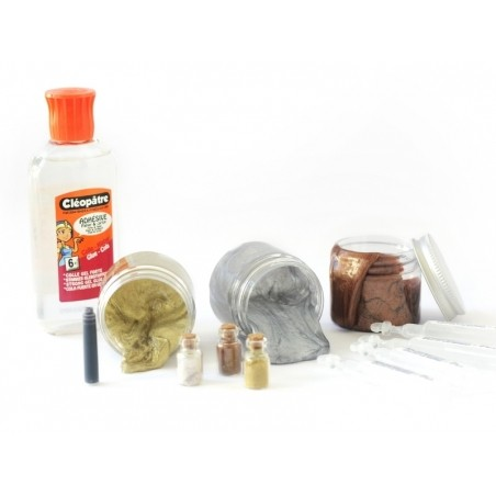 Kit complet - le slime métallique La petite épicerie - 4