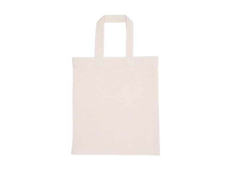 Acheter Sac shopping / Tote bag en tissu Naturel - 38 x 42 cm - 3,90€ en ligne sur La Petite Epicerie - Loisirs créatifs