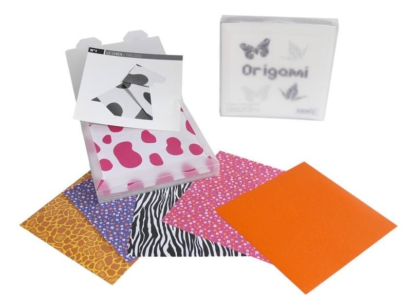 Origami Set - Motifs assortis Masking Tape - 1