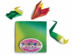 40 feuilles de papier Origami - Ombré couleurs vives