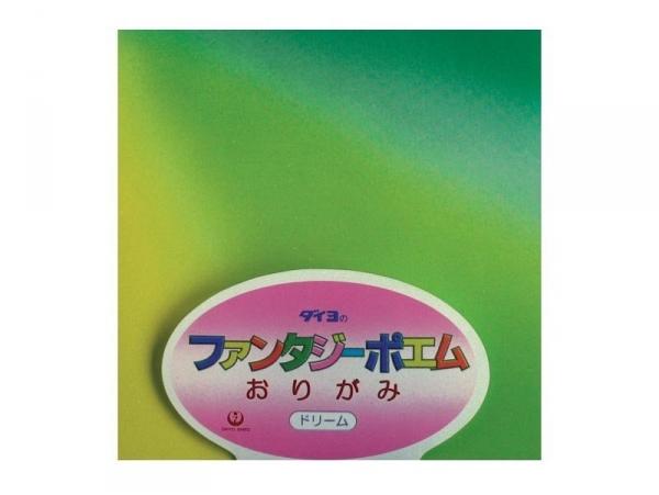 40 feuilles de papier Origami - Ombré couleurs vives Masking Tape - 1