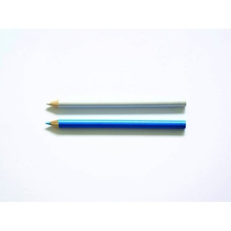Acheter Kit de 2 crayons craie : bleu et blanc - 3,60€ en ligne sur La Petite Epicerie - Loisirs créatifs
