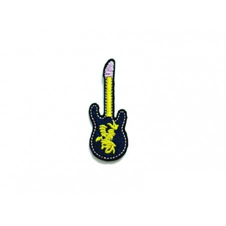 Acheter Ecusson thermocollant guitare éléctrique - 2,49€ en ligne sur La Petite Epicerie - Loisirs créatifs