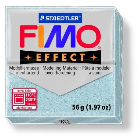 Pâte Fimo EFFECT Pailletée  Argent 812 Fimo - 5