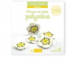 """French book """" Fleurs en pâte polymère"""""""