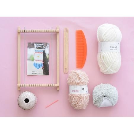 Kit tissage - couleurs pastels  - 2