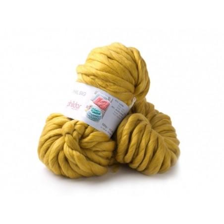 Acheter Laine Phil Big - Jaune Moutarde - 24,99€ en ligne sur La Petite Epicerie - Loisirs créatifs