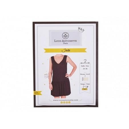 Acheter Patron de couture Louis Antoinette - Robe Jade - 15,90€ en ligne sur La Petite Epicerie - 100% Loisirs créatifs