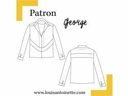 Patron de couture Louis Antoinette - Top George