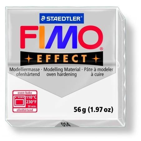 Pâte Fimo EFFECT Translucide blanc  014