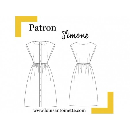 Patron de couture Louis Antoinette - Robe Simone Louis Antoinette Paris - 2