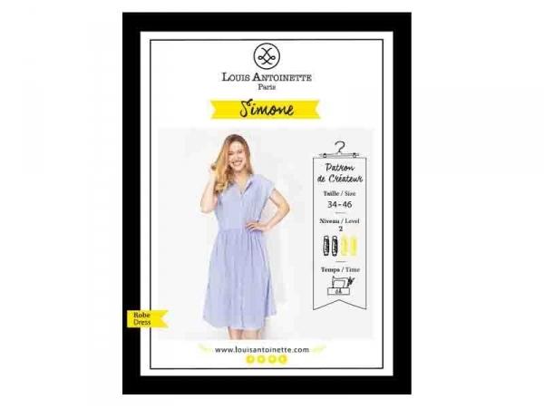 Patron de couture Louis Antoinette - Robe Simone Louis Antoinette Paris - 1