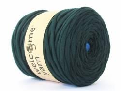 Grande bobine de fil trapilho - vert foncé uni