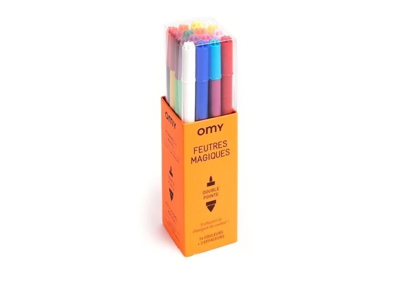 Acheter 16 feutres magiques - pour coloriage - 9,90€ en ligne sur La Petite Epicerie - 100% Loisirs créatifs