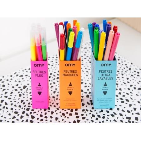 16 ultrawashable felt pens