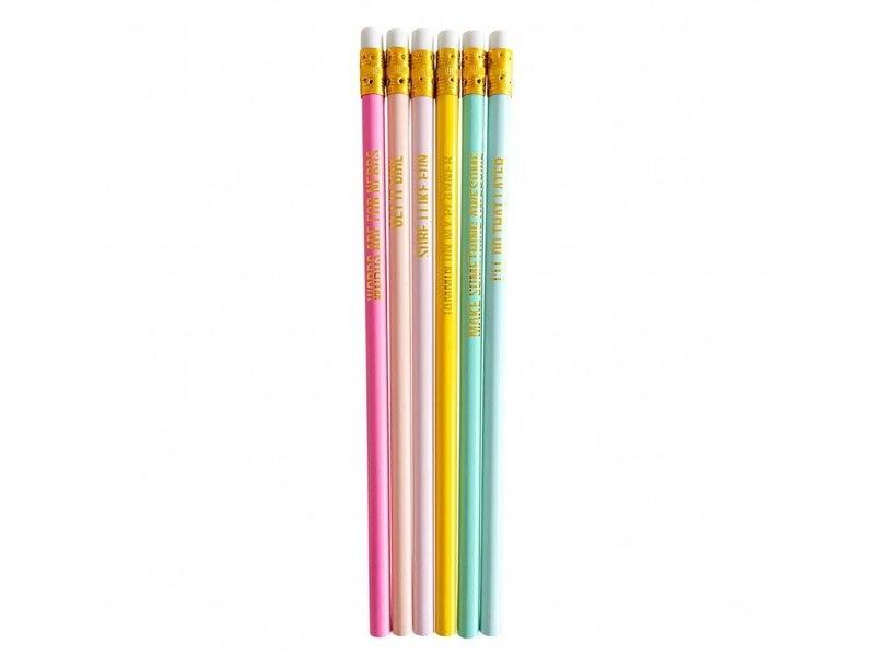 Acheter Lot de crayons - messages dorés - 7,29€ en ligne sur La Petite Epicerie - 100% Loisirs créatifs