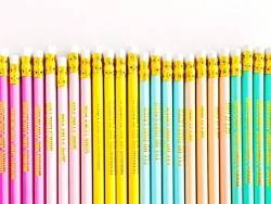 Lot de crayons - Motifs graphiques
