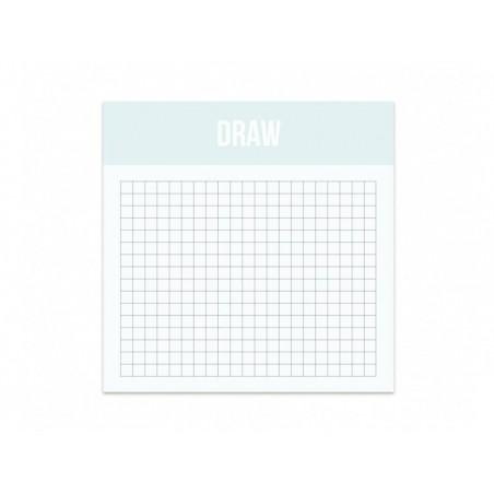 Mini Draw - Bloc de quadrillages Studio Stationery - 1