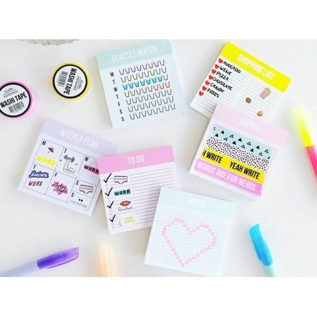 Mini semainier - Bloc organiseur Studio Stationery - 2