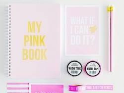 Carnet ligné - My pink book Studio Stationery - 2