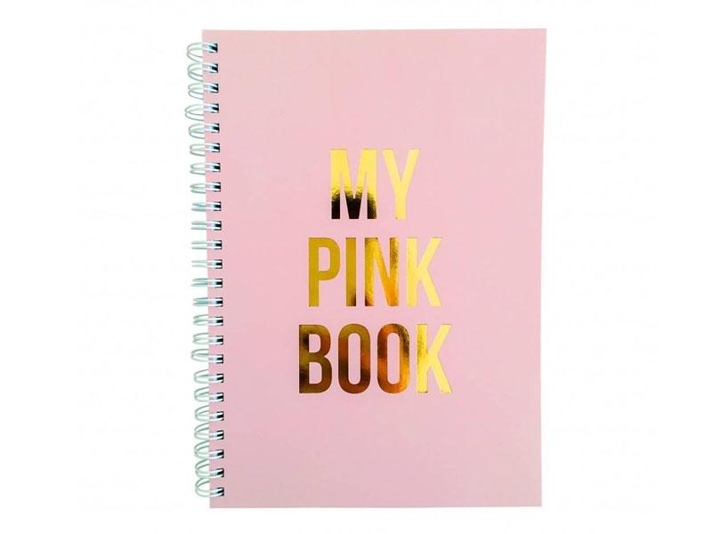 Carnet ligné - My pink book Studio Stationery - 1