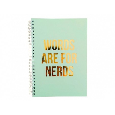 Carnet ligné - Words are for nerds Studio Stationery - 1
