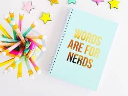 Carnet ligné - Words are for nerds Studio Stationery - 2