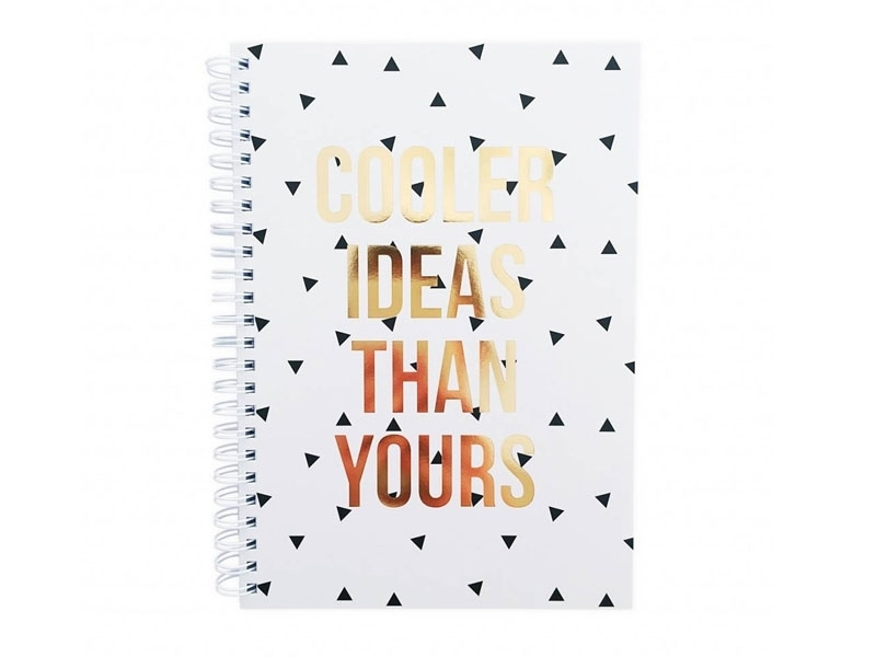 Carnet ligné - Cooler ideas than yours Studio Stationery - 1