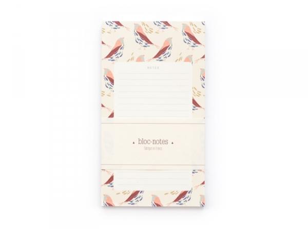 Acheter Bloc-notes / To do list - mésanges - 7,00€ en ligne sur La Petite Epicerie - Loisirs créatifs