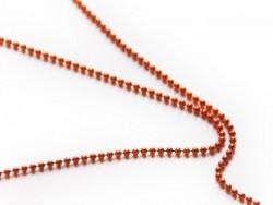 Acheter Chaine bille 1,5 mm orange foncé x 20 cm - 0,40€ en ligne sur La Petite Epicerie - Loisirs créatifs