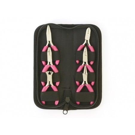Acheter 6 mini pinces roses pour création de bijoux - dans un joli étui - 19,90€ en ligne sur La Petite Epicerie - Loisirs c...