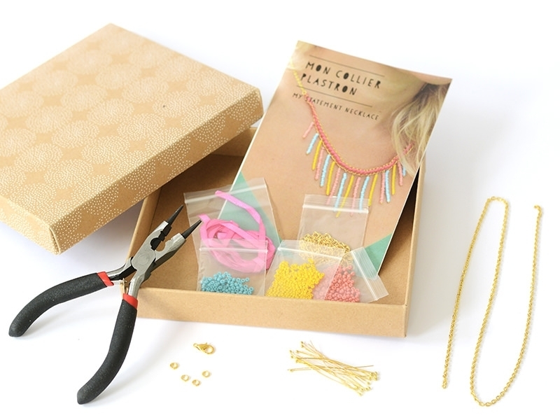 Kit mon collier plastron - Mes kits make it