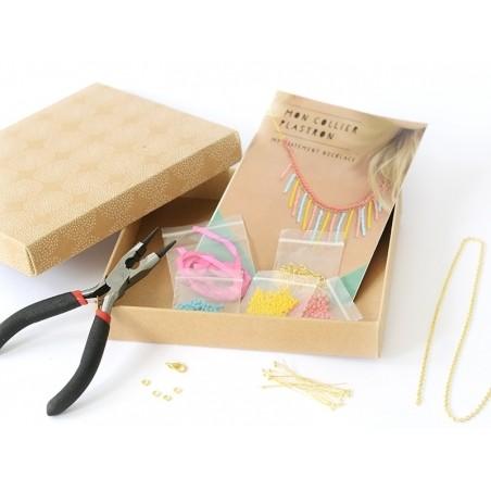 Kit mon collier plastron - Mes kits make it La petite épicerie - 4