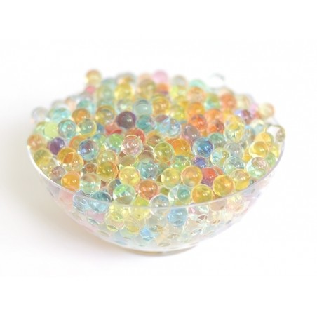Acheter Lot de 100 billes d'eau multicolores pour le slime - 0,99€ en ligne sur La Petite Epicerie - Loisirs créatifs