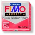 Pâte Fimo EFFECT Translucide Rouge 204
