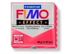 Fimo Effect - translucent colour red no. 204