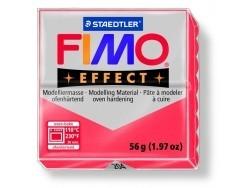 Fimo - translucent colour red no. 204
