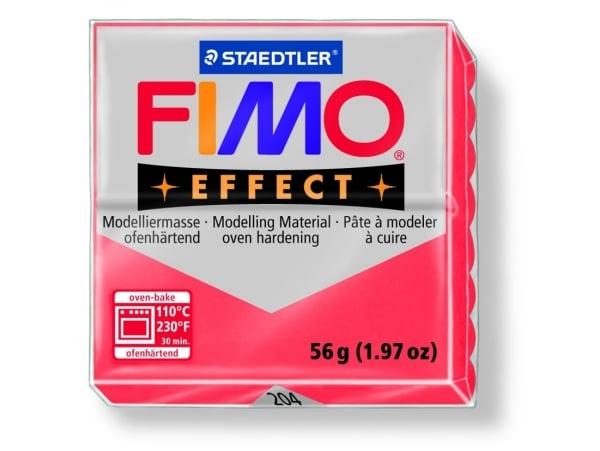 Acheter Pâte Fimo EFFECT Translucide Rouge 204 - 1,99€ en ligne sur La Petite Epicerie - Loisirs créatifs