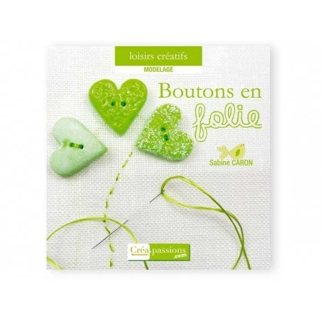 """French book """" Boutons en folie"""""""